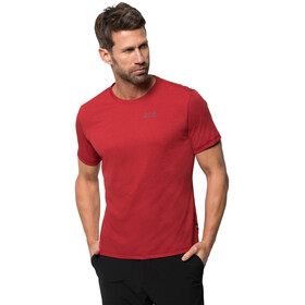 Jack Wolfskin Sky Range T-Shirt Homme, red lacquer
